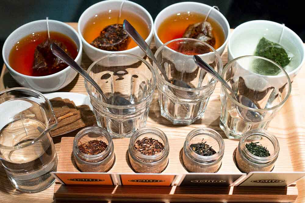 Tea Tasting at Smith Teas in Portland OR