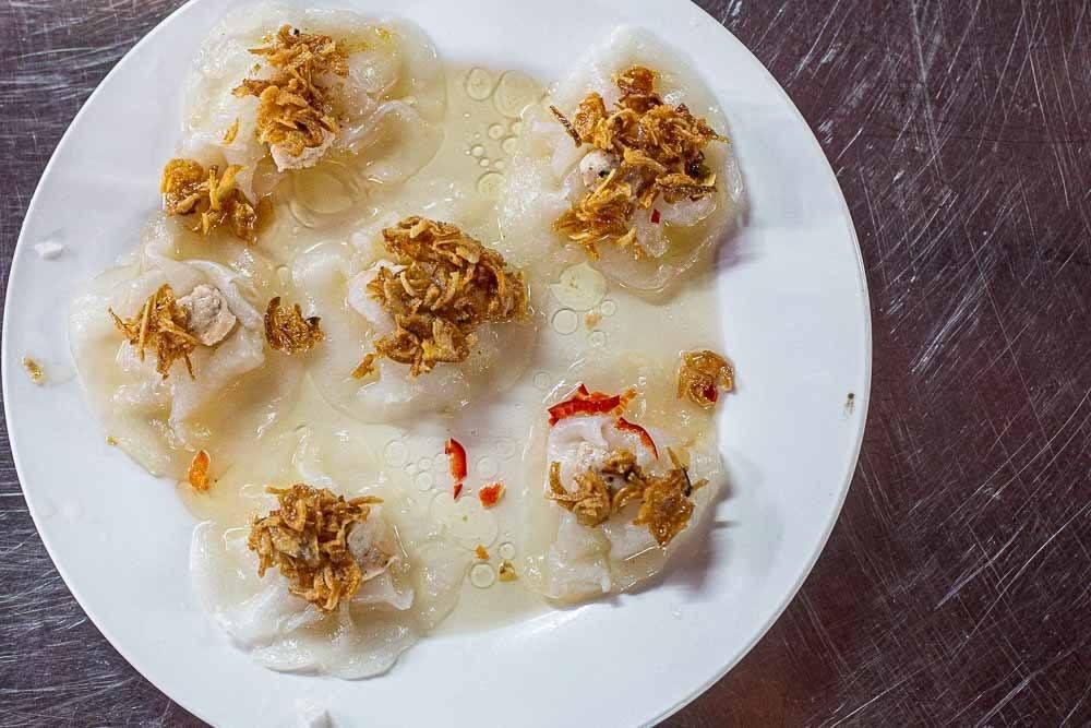 White Rose Dumplings in Hoi An