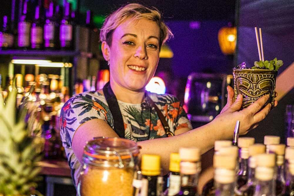 Barntender at Ohana Tiki Bar in Dublin