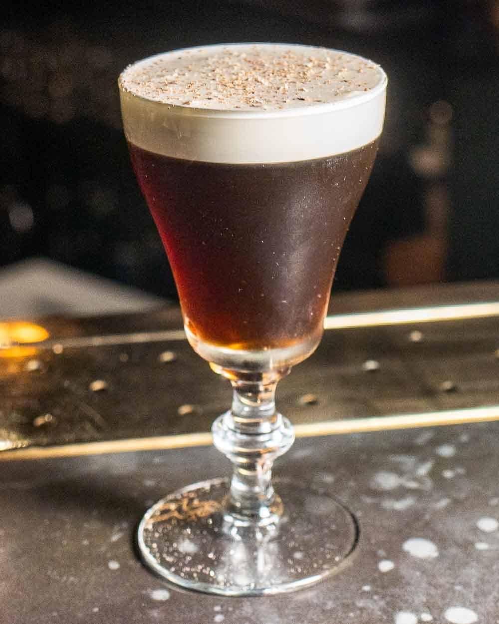 Belfast Coffee at Bar 1661 in Dublin