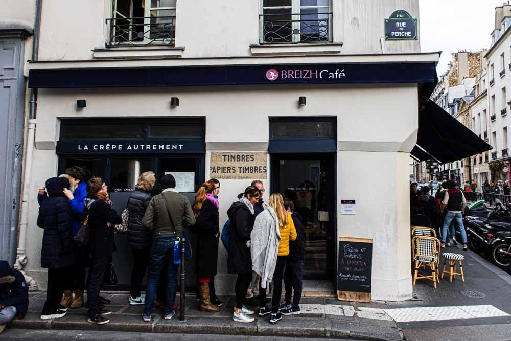 Breizh Cafe in Paris