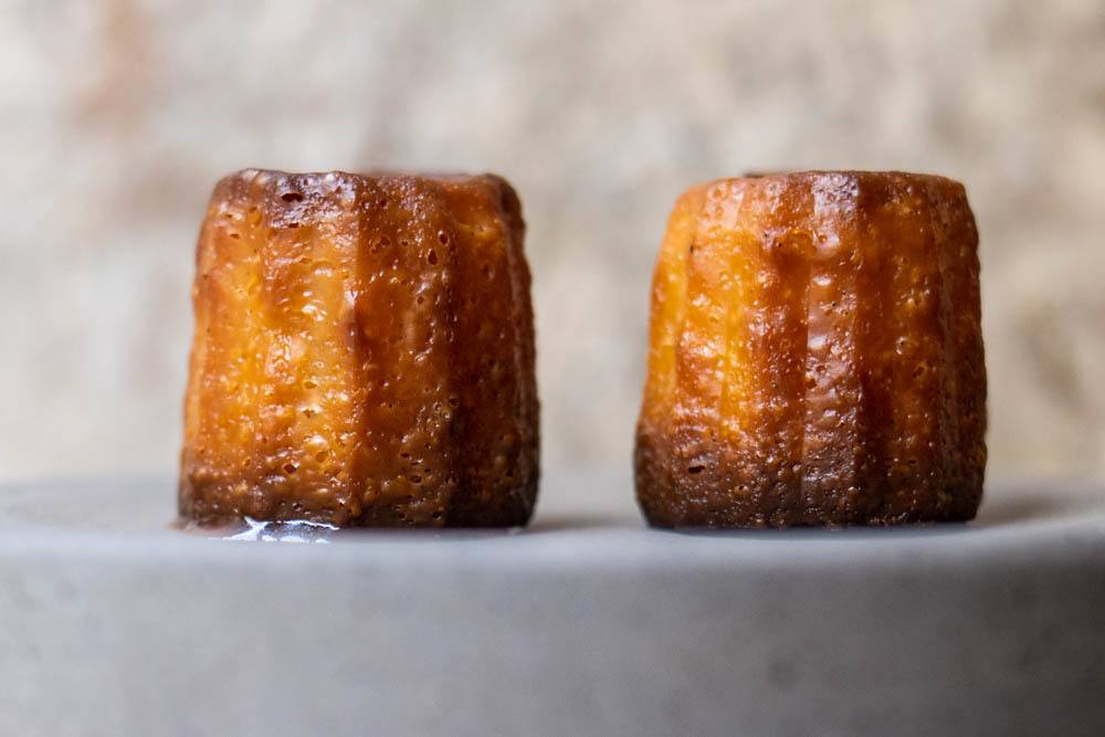 Caneles at Frenchie in Paris