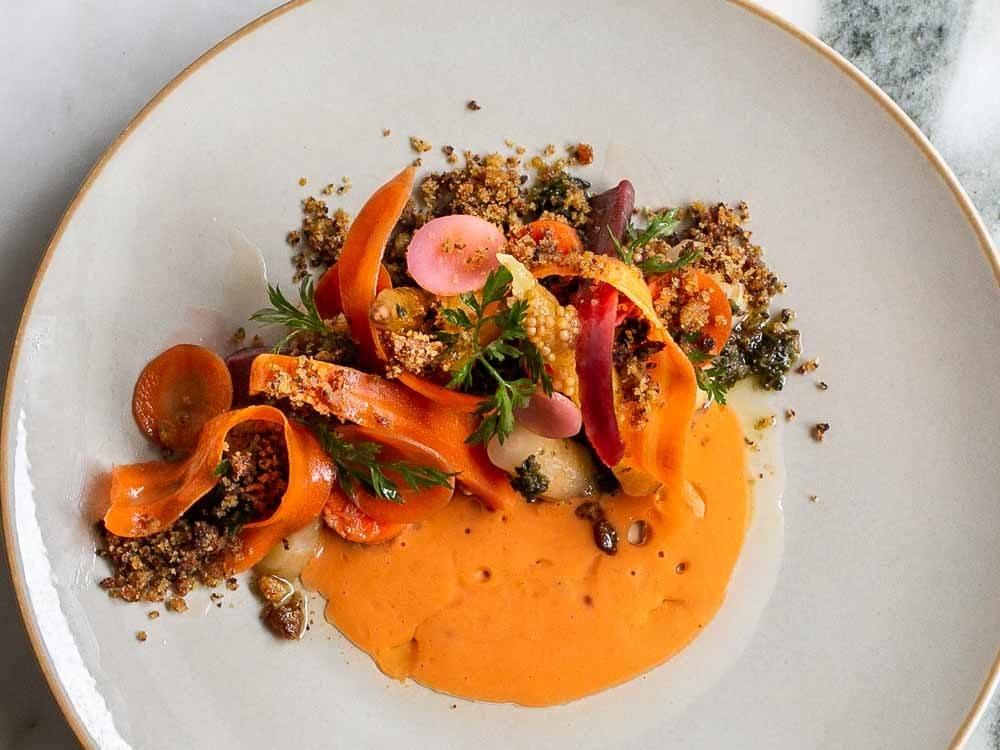 Carrot Starter at Friday Saturday Sunday in Philadelphia
