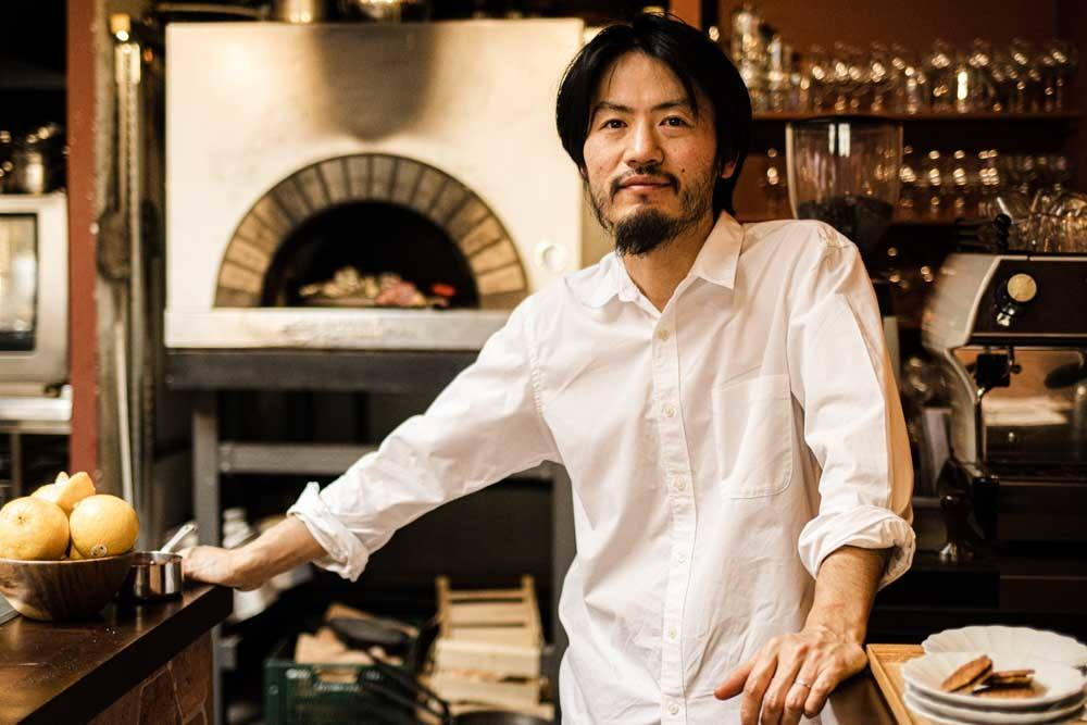 Chef Sota Atsumi at Maison in Paris