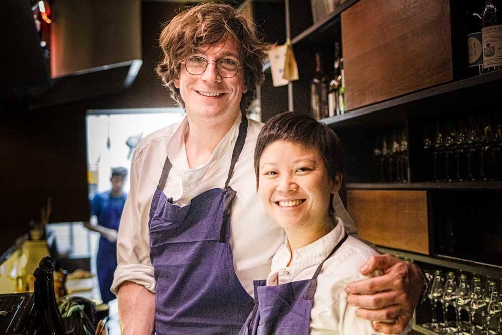 Chefs at Le Rigmarole in Paris