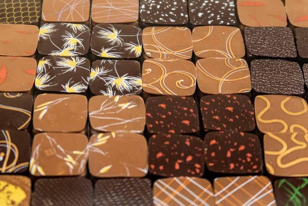 Chocolates at Jacques Genin in Paris