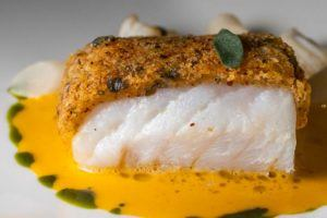 Cod at Etto in Dublin