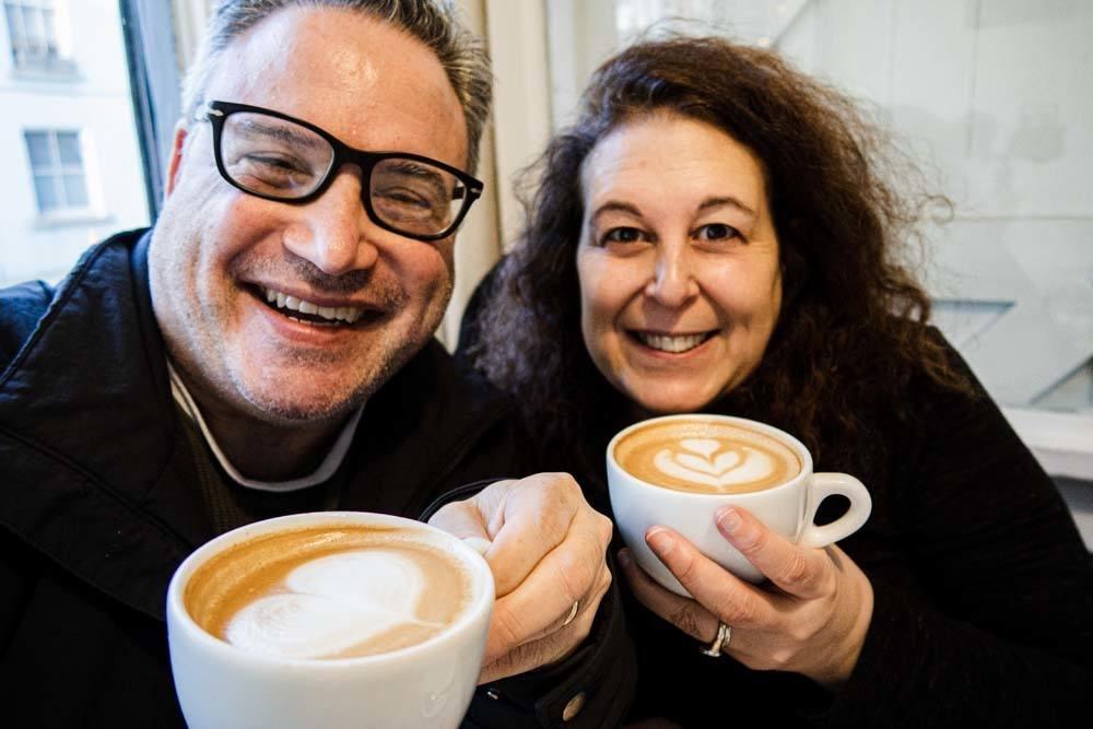 Coffee Selfie in Dublin