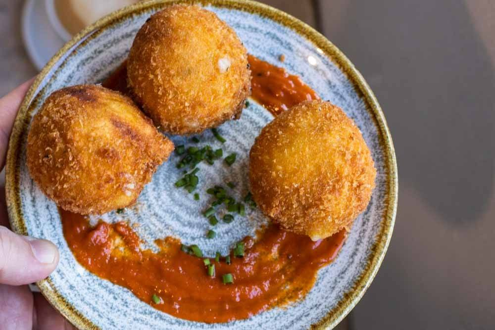 Croquettes at Two Pups in Dublin