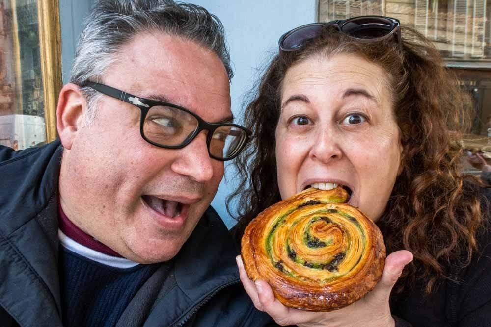 Du Pain et des Idees Selfie in Paris
