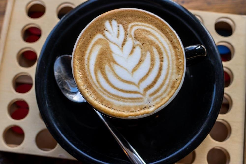 Flat White at Shoe Lane Coffee in Dublin