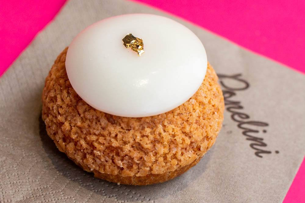 Gold Topped Popelini at Popelini in Paris