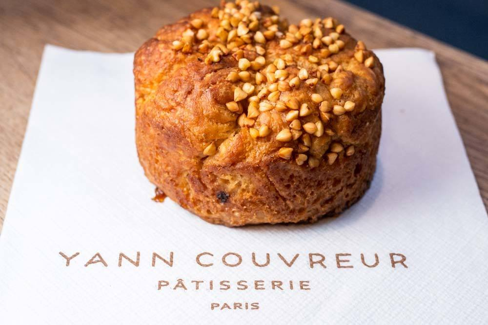Kouign Amann at Patisserie Yann Couvreur in Paris