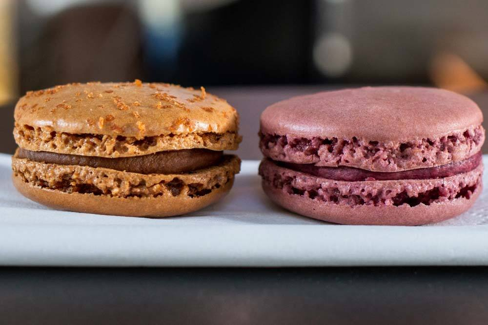 Macarons at Jean Paul Hevin in Paris