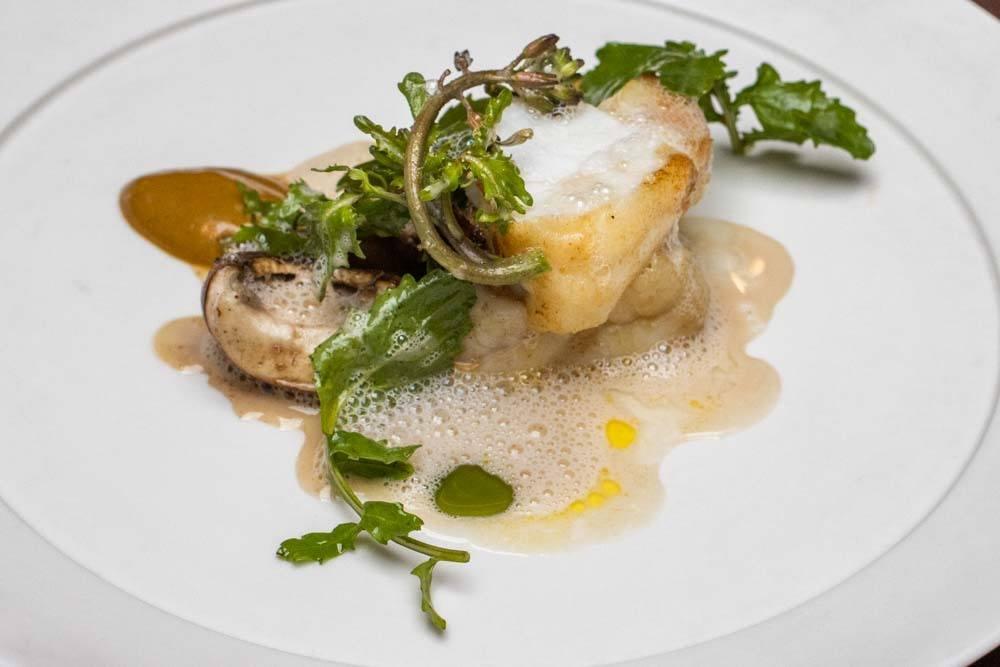 Monkfish at Maison in Paris