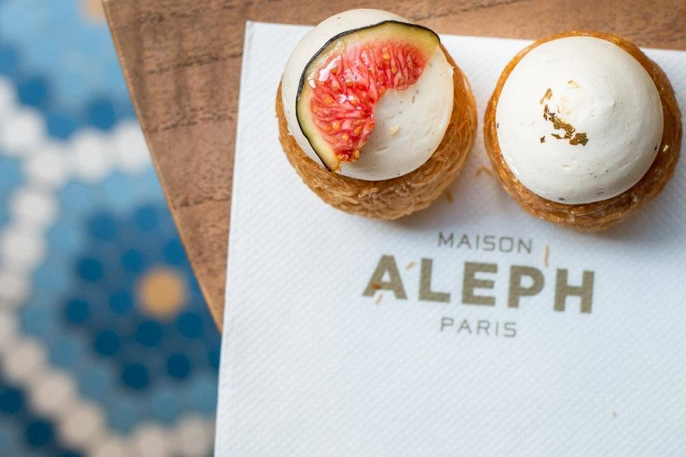 Nids Patissiers at Maison Aleph in Paris