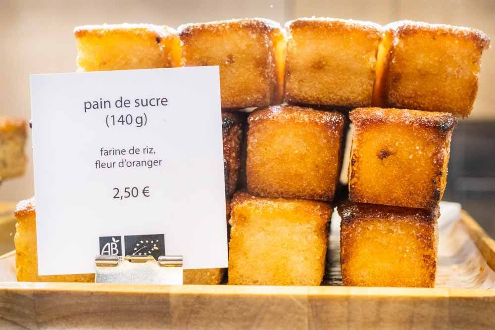 Pain de Sucre at Boulangerie Chambelland in Paris