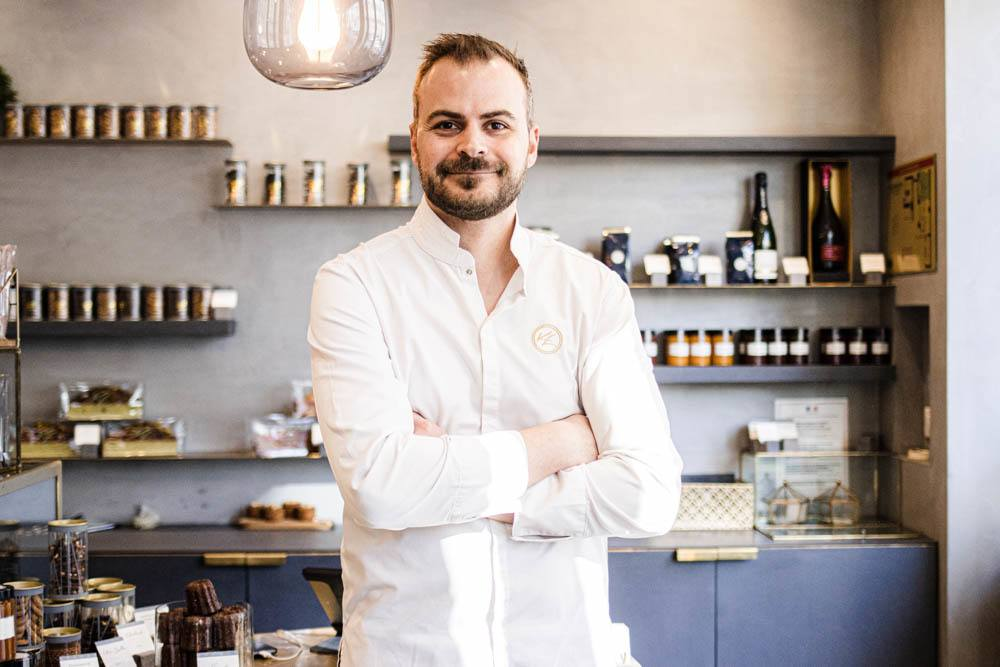 Pastry Chef Kevin Lacote at KL Patisserie in Paris