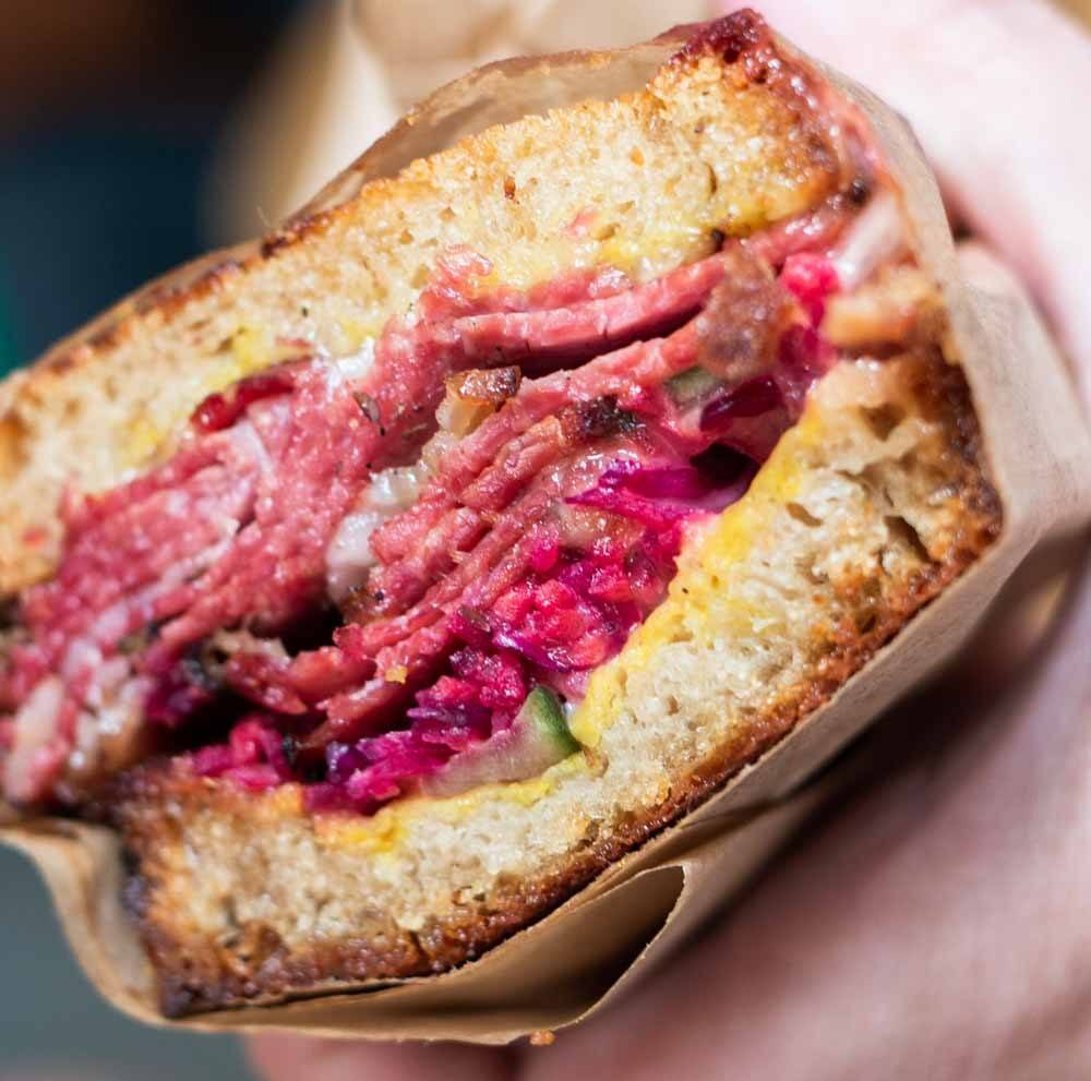 Reuben at Frenchie to Go FTG in Paris