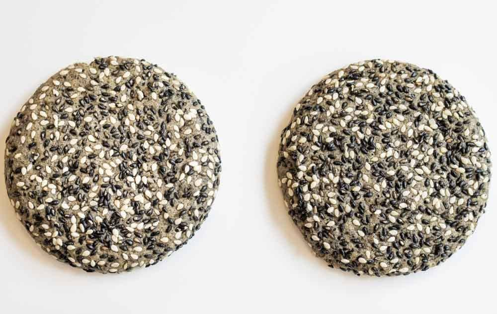 Sesame Cookies at Jean Hwang Carrant in Paris