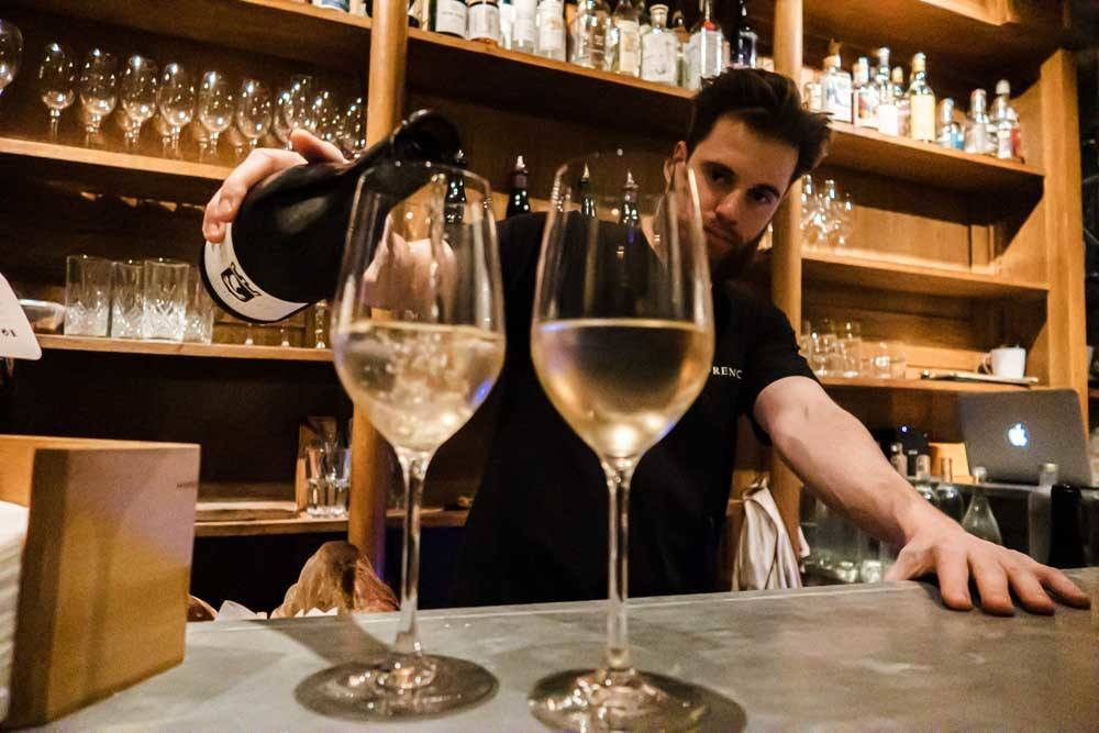 Bartender at Frenchie – Bar a Vins in Paris