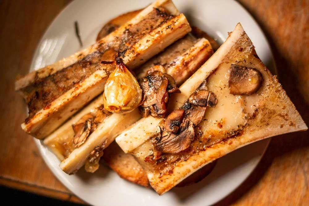 Bone Marrow at Buvette Paris in Paris