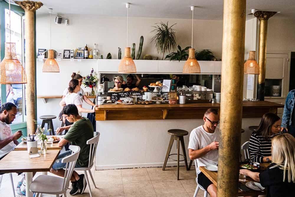 Cafe Mericourt in Paris