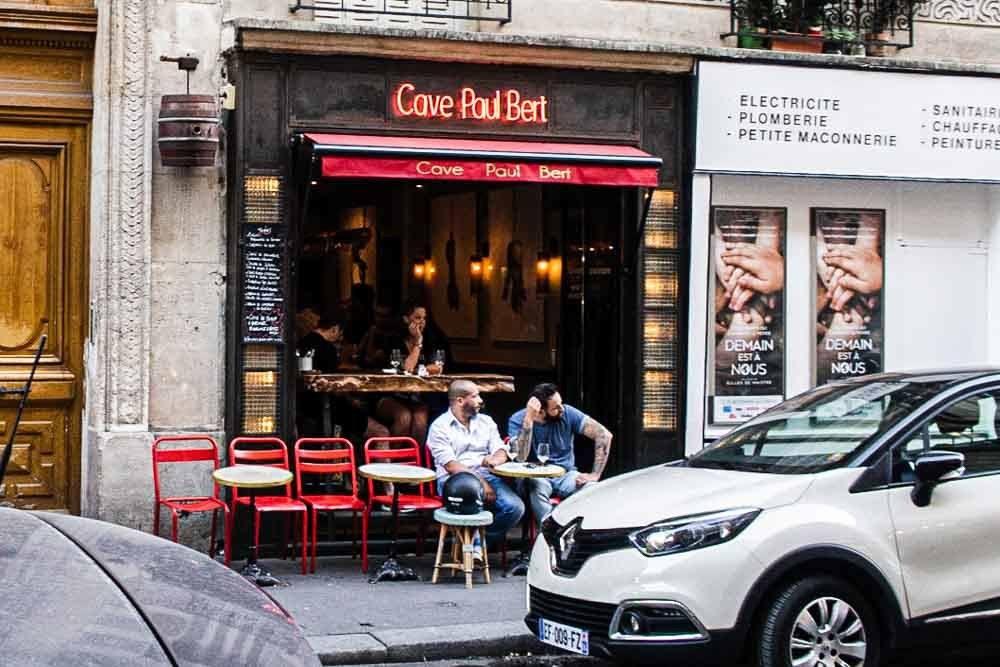 Cave Paul Bert in Paris