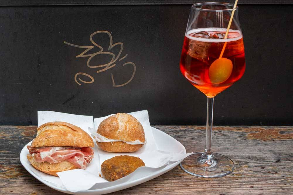 Cicchetti and Spritz at Al Merca in Venice