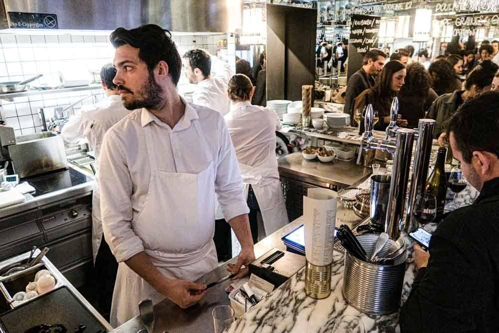 Cook at Deviant in Paris