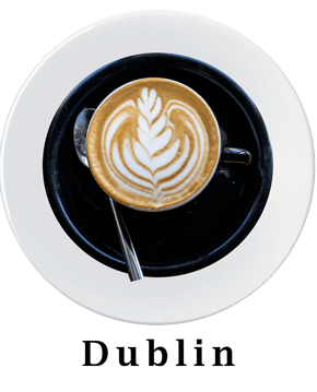 Dublin Coffee Plate