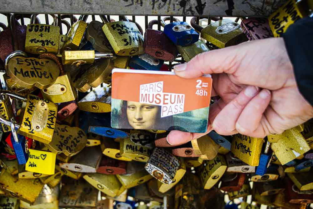 Paris Museum Pass and Locks