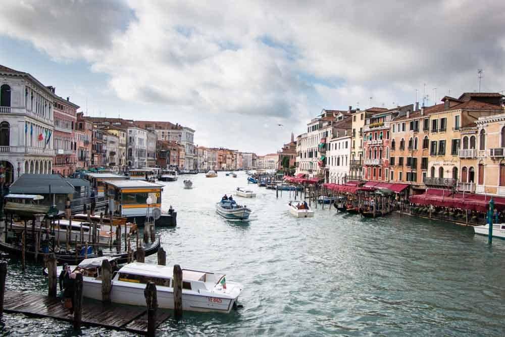 Venice Canal Scene