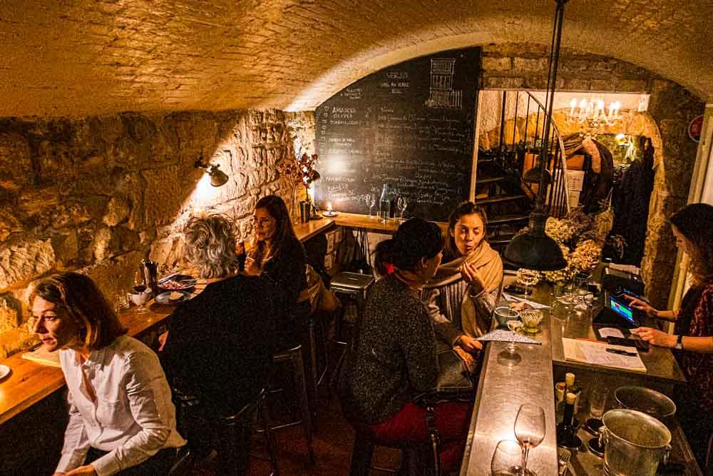 Verjus Bar a Vins in Paris