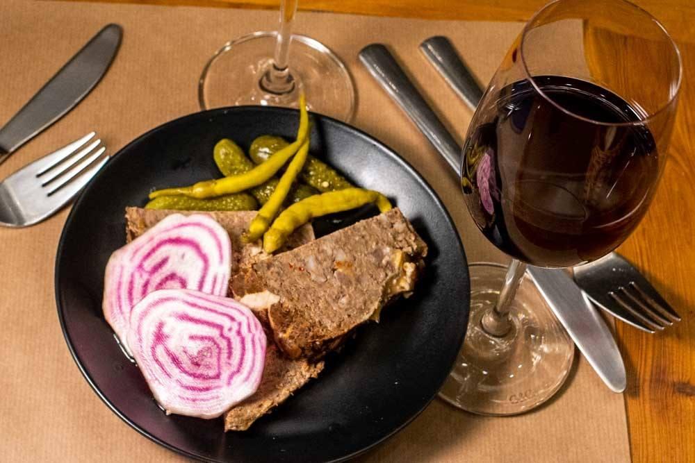 Wine and Food at La Cave de Belleville in Paris