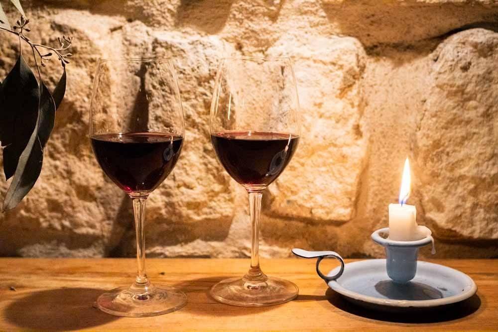 Wine at Verjus Bar a Vins in Paris
