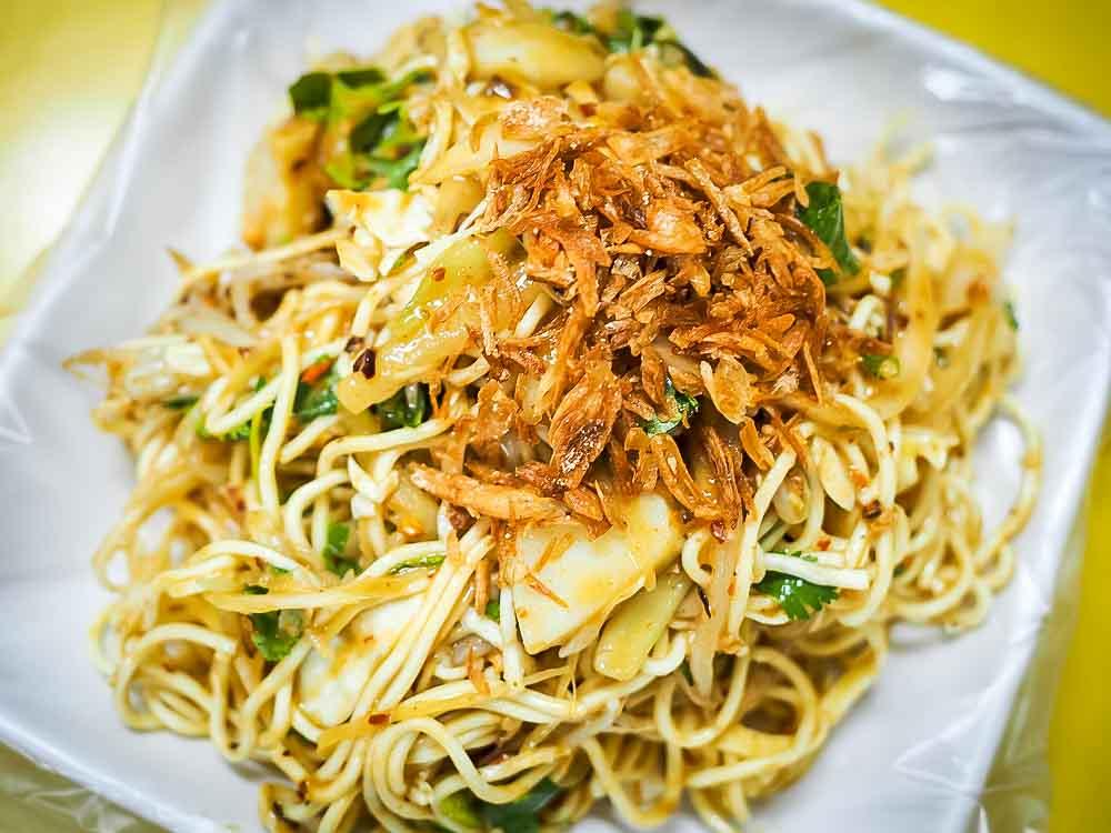 Burma Street Noodles in Taipei