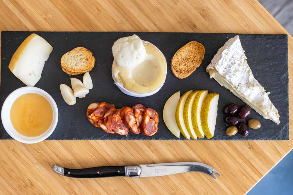 How to Make a Cheese Plate for Two