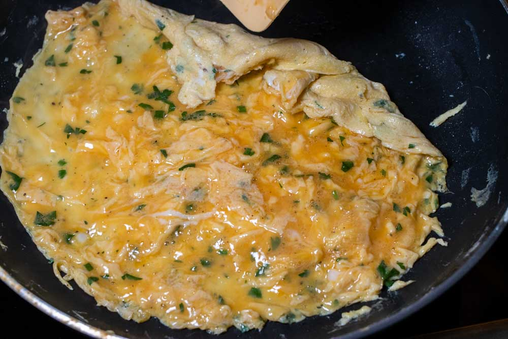 Turning the Omelette in the Pan