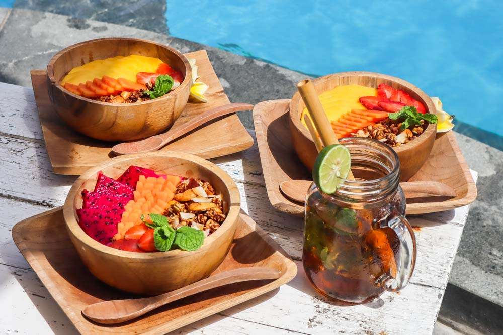 Poolside Brunch in Canggu Bali