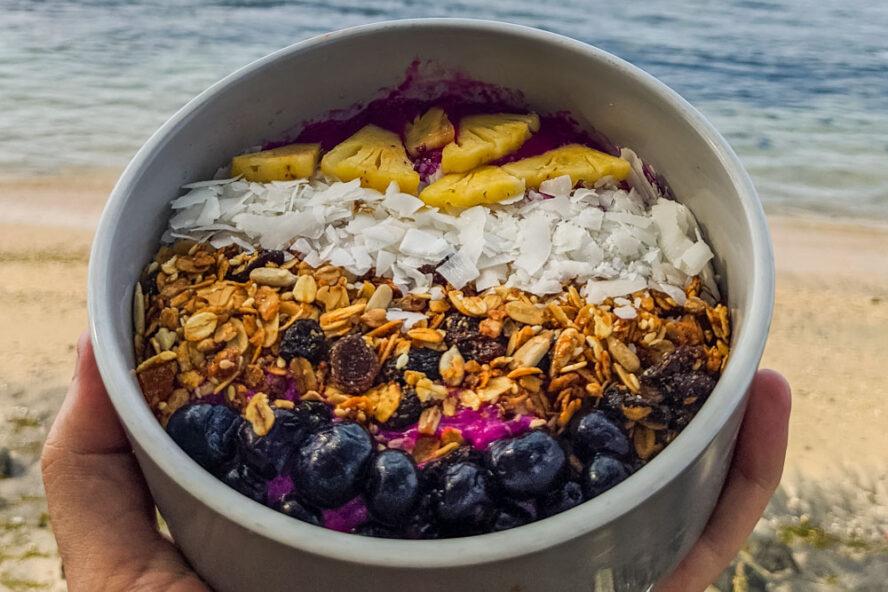 Smoothie Bowl at Bali Beach