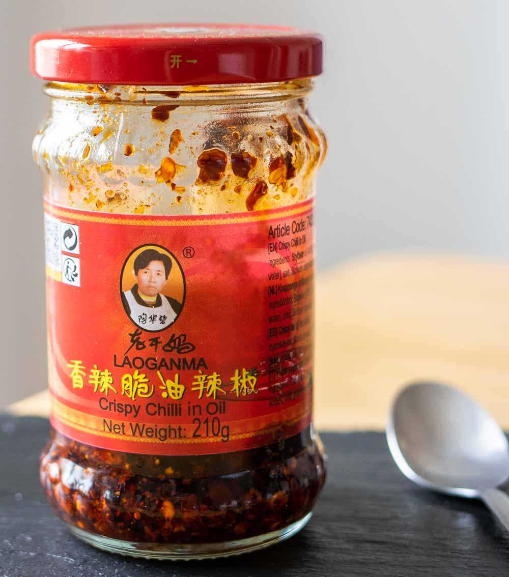 Chili Crisp Jar