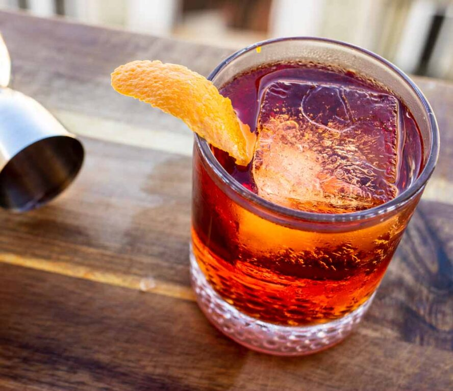 Classic Negroni with Jigger