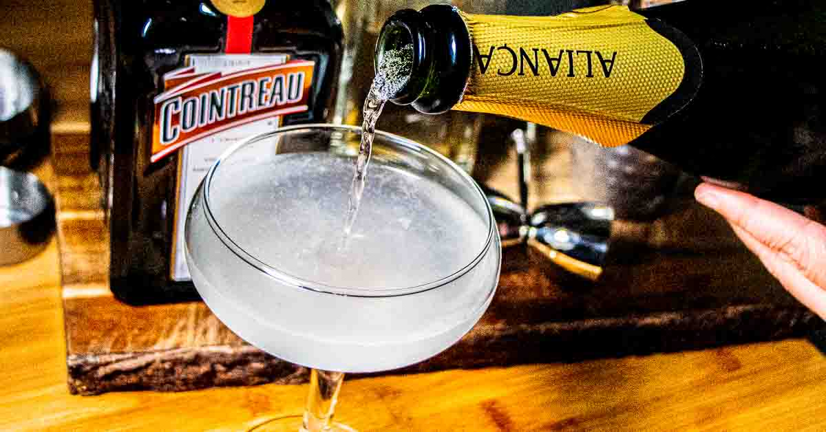 French 75 Recipe with Cointreau