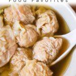 Pinterest image: image of Hong Kong food with caption reading 'Hong Kong Food Favorites'