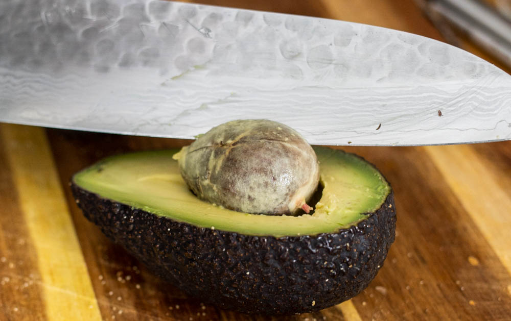 Removing the Avocado Pit