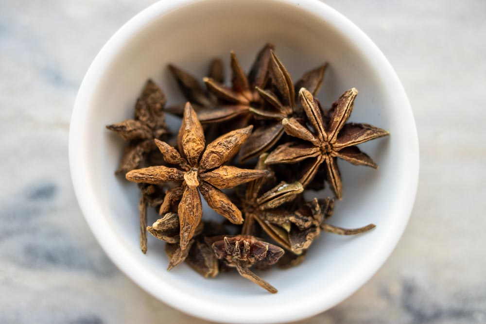 Star Anise in Bowl