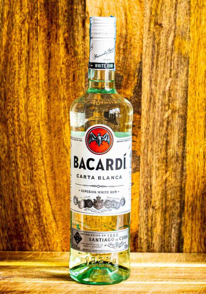 Bacardi Rum Bottle