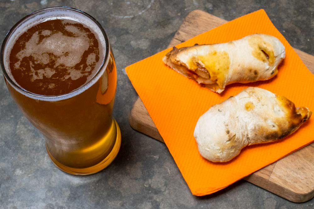 Beer and Chorico Bread at Villa Craft in Sintra