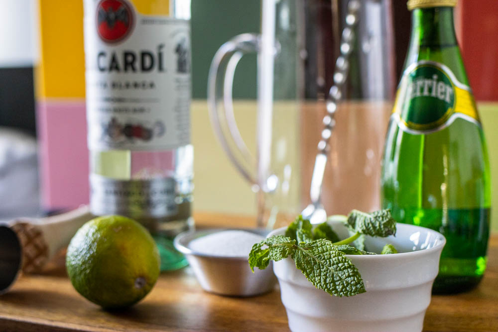 Classic Mojito Ingredients